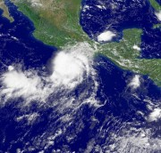 Hurricane John Spins Southeast OF Acapulco, Mexico As Tropical Storm Ernesto