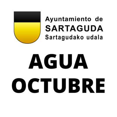 agua octubre 2019